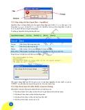 Giáo trình phân tích quy trình vận dụng các cú pháp trên cùng một modun với các chương trình con p6