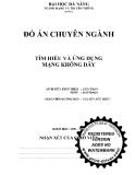 Đề tài: TÌM HIỂU VÀ ỨNG DỤNG MẠNG KHÔNG DÂY