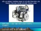 Bài giảng Cấu tạo sửa chữa thông thường xe ô tô - Vũ Văn Hằng