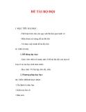 Giáo án Mỹ thuật lớp 6 : Tên bài dạy : ĐỀ TÀI BỘ ĐỘI