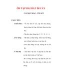 Giáo án Âm nhạc lớp 6 : Tên bài dạy : ÔN TẬP BÀI HÁT ĐI CẤY
