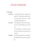 Giáo án Âm nhạc lớp 6 : Tên bài dạy : ÔN TẬP VÀ KIỂM TRA