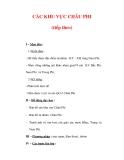 Giáo án ĐỊa lý lớp 7 : Tên bài dạy : CÁC KHU VỰC CHÂU PHI (tiếp theo)