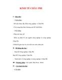 Giáo án ĐỊa lý lớp 7 : Tên bài dạy : KINH TẾ CHÂU PHI