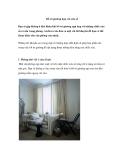 Bố trí giường hợp với cửa sổ