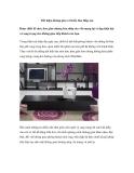 Tiết kiệm không gian với kiểu bàn thấp sàn