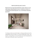 Thiết kế nội thất thông minh cho nhà nhỏ
