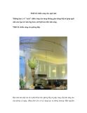 Thiết kế chiếu sáng cho ngôi nhà