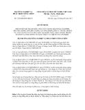 Thông báo số 1238/QĐ-BNN-KHCN