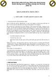 Giáo trình phân tích quy trình ứng dụng lượng thuốc kháng sinh với triệu chứng của choáng phản vệ p1
