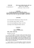 Nghị định 101/2006/NĐ - CP