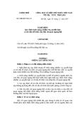 Nghị định Số: 178/2007/NĐ-CP