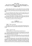 PHÁP LỆNH CỦA UỶ BAN THƯỜNG VỤ QUỐC HỘI SỐ 08/2003/PLUBTVQH11 NGÀY 25 THÁNG 02 NĂM 2003 VỀ TRỌNG TÀI THƯƠNG MẠI