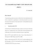 CÁC LOẠI RỐI LOẠN NHỊP VÀ DẪN TRUYỀN TIM – PHẦN 2
