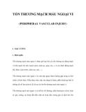 TỔN THƯƠNG MẠCH MÁU NGOẠI VI (PERIPHERAL VASCULAR INJURY)