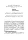 """Báo cáo khoa học: """"Phân tích mạch điện tuyến tính phức tạp theo hàm sơ đồ kết hợp với lý thuyết mạng bốn cực sử dụng máy tính"""""""