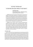 """Báo cáo khoa học: """"Cấu trúc tín hiệu DVB-T và khả năng ứng dụng trong kỹ thuật định vị"""""""