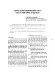 """Báo cáo khoa học: """"Vận tải container một hình thức vận tải Tiềm năng ở Việt Nam"""""""