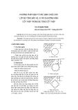 """Báo cáo khoa học: """"Phương pháp điện từ xác định chiều dày lớp bê tông bảo vệ, vị trí và đường kính cốt thép trong bê tông cốt thép"""""""