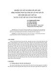 """Báo cáo khoa học: """"nghiên cứu chế tạo răng gầu máy đào bằng phương pháp gia công áp lực phù hợp với điều kiện sản xuất chế tạo tại các cơ sở chế tạo cơ khí trong nước"""""""