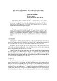 Báo cáo khoa học: Bố trí và kiểm tra vị trí tháp cầu dây văng - ThS. Hồ Thị Lan Hương
