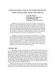 """Báo cáo khoa học: """"Phương pháp định vị TDOA và phát triển trong mô hình tự định vị DVB-T(H) dùng tín hiệu tham chiếu TPS"""""""