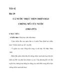 GIÁO ÁN LỊCH SỬ 9_Tiết 42