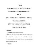 GIÁO ÁN LỊCH SỬ 9_Tiết 4