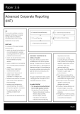 acca test book Advanced Corporate Reporting