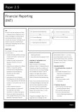 acca test book Financial Reporting