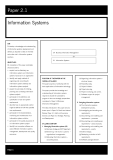 acca test book Information Systems