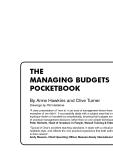 THE MANAGING BUDGETS POCKETBOOK phần 1