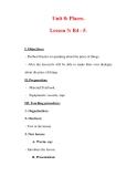 Giáo án Anh văn lớp 7 : Tên bài dạy : Unit 8: Places. Lesson 3: B4 - 5.