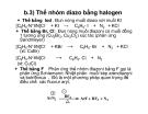 Bài giảng dẫn xuất Hydrocacbone - AMIN-MUỐI DIAZONI part 6