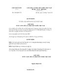 Quyết định số 1148/QĐ-CTN