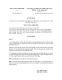 Quyết định số 1207/QĐ-TTg