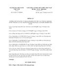 Thông tư số 18/2011/TT-NHNN