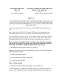 Thông tư số 21/2011/TT-NHNN