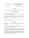 Quyết định số 48/2011/QĐ-TTg