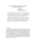"""Báo cáo khoa học: """"Xây dựng đặc tính cơ giới của động cơ điện kéo bằng phương pháp lý thuyết"""""""