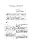 """Báo cáo khoa học: """"CHUYỂN DỊCH CƠ CẤU NGÀNH KINH TẾ Ở VIỆT NAM TỪ NĂM 1986 ĐẾN NAY"""""""