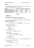 Bài tập về Cơ sở thiết kế máy