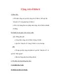Giáo án môn Toán lớp 7 : Tên bài dạy : Cộng, trừ số hữu tỉ