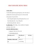 Giáo án môn Toán lớp 7 : Tên bài dạy : HAI TAM GIÁC BẰNG NHAU