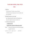 Giáo án môn Toán lớp 7 : Tên bài dạy : Luyện tập đa thức; cộng, trừ đa thức