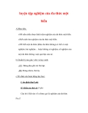 Giáo án môn Toán lớp 7 : Tên bài dạy : luyện tập nghiệm của đa thức một biến