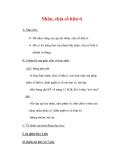 Giáo án môn Toán lớp 7 : Tên bài dạy : Nhân, chia số hữu tỉ