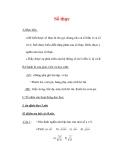 Giáo án môn Toán lớp 7 : Tên bài dạy : Số thực