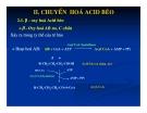 Bài giảng chuyển hóa các chất - Chuyển Hóa Lipid part 4