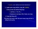 Bài giảng chuyển hóa các chất - Chuyển hóa Glucid part 4